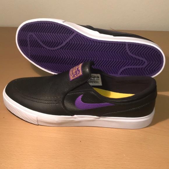 Nike Other - Nike SB Stefan Janoski NBA LA Lakers 9.5